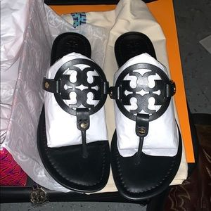 Tory Burch Miller calf leather sandals